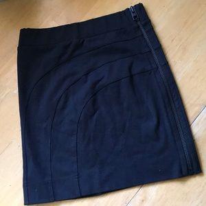 All Saints Bodycon Miniskirt w Zipper size 2